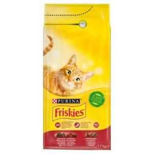 Friskies Adult - Marha & Csirke - Szárazeledel