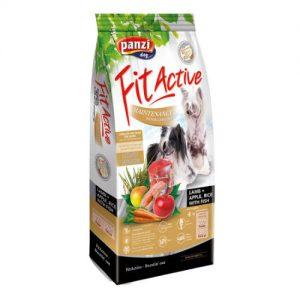 Panzi FitActive Hypoallergenic Lamb Maintenance Adult (bárány,rizs,alma) száraztáp - Ételallergiás, felnőtt kutyák részére (4kg)
