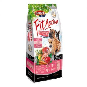 Panzi FitActive Hypoallergenic Puppy Lamb (bárány,rizs,alma) száraztáp - Kölyök kutyák részére (4kg)
