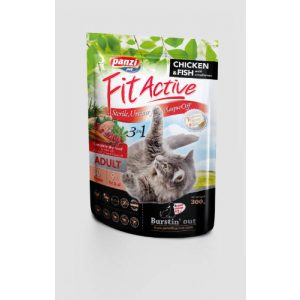 Panzi FitActive 3in1 Adult (hal,baromfi) Panzi FitActive Sensitive Cat Adult (baromfi,hal) száraztáp - Felnőtt macskák részére