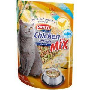 Panzi Cat-Mix Adult (csirke,hal) száraztáp - Felnőtt macskák részére (400g)
