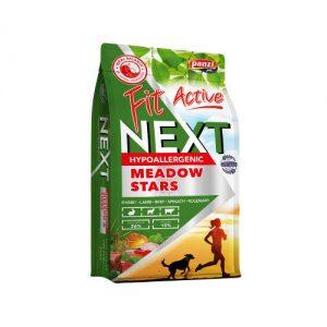 Panzi FitActive Next Meadow Stars Adult (nyúl,bárány,marha,rizs,alma) száraztáp (3 kg) - Ételallergiás, felnőtt kutyák részére