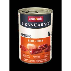 Animonda GranCarno Junior (marha,csirke) konzerv - Kölyök kutyák részére (400g)