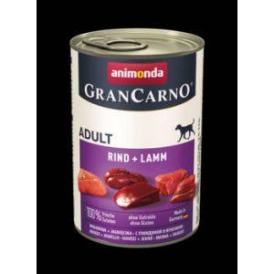 Animonda GranCarno Adult (marha,bárány) konzerv - Felnőtt kutyák részére (400g)
