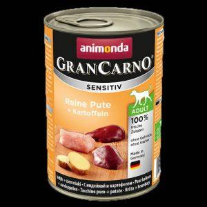Animonda GranCarno Sensitiv Adult (pulyka,burgonya) konzerv - Felnőtt kutyák részére (400g)