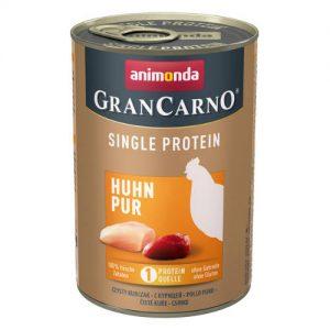 Animonda GranCarno Adult (single protein) konzerv - Felnőtt kutyák részére, csirkehússal (400g)
